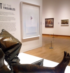 Art of the Troubles exhibition, Ulster Museum, Belfast