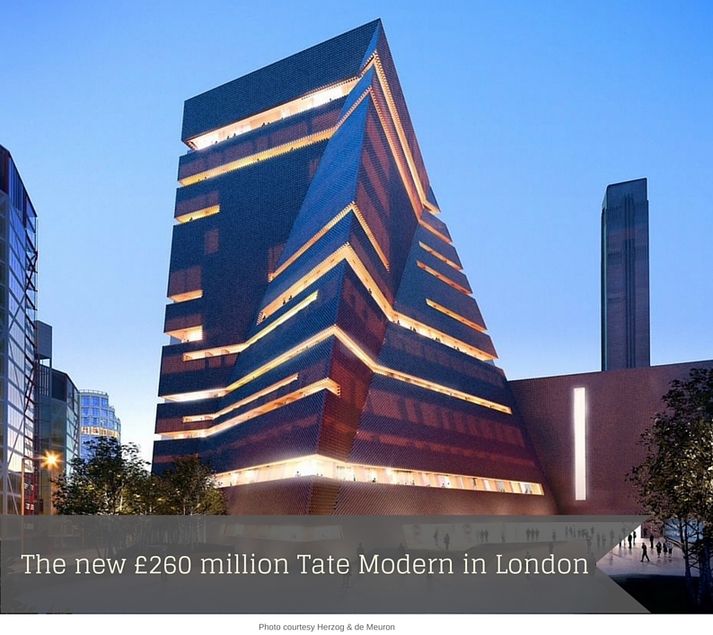new tate modern is a statement on global in the