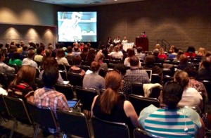 One of 150 working sessions at the American Alliance of Museums event in Atlanta