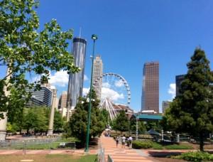 Downtown Atlanta, Georgia, USA
