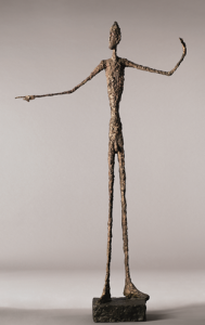Giacometti's L'homme au doigt sold for $130 million