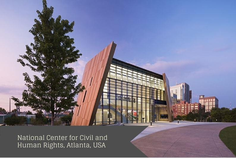 National Center for Civil and Human Rights, Atlanta, USA