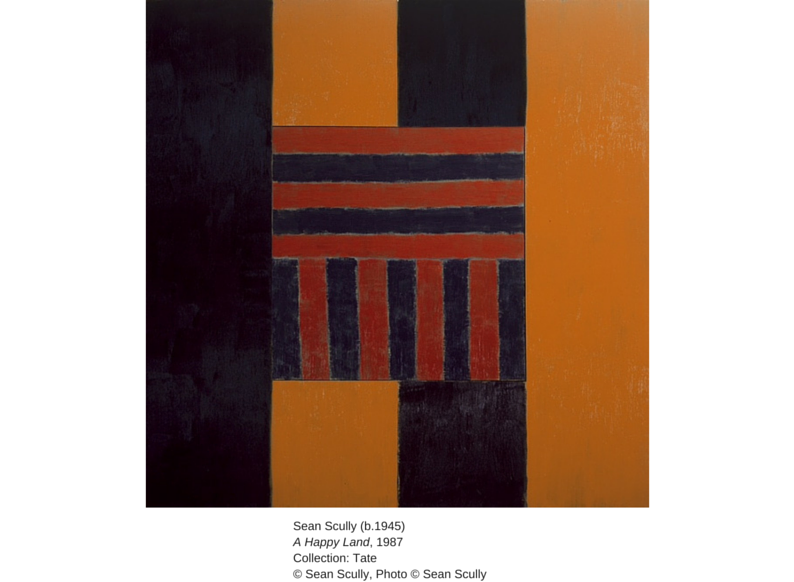 Sean Scully (b.1945) A Happy Land, 1987 Collection: Tate © Sean Scully Photo © Sean Scully