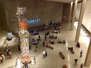 The Main Hall at the 9/11 Museum