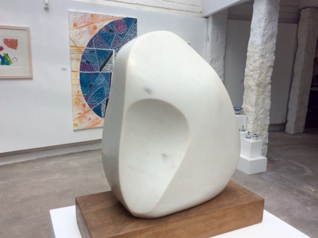 Barbara Hepworth's Magic Stone in the Penwith Gallery