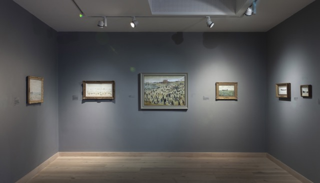 Lowry By The Sea, Jerwood Gallery, Hastings. Copyright Sam Roberts