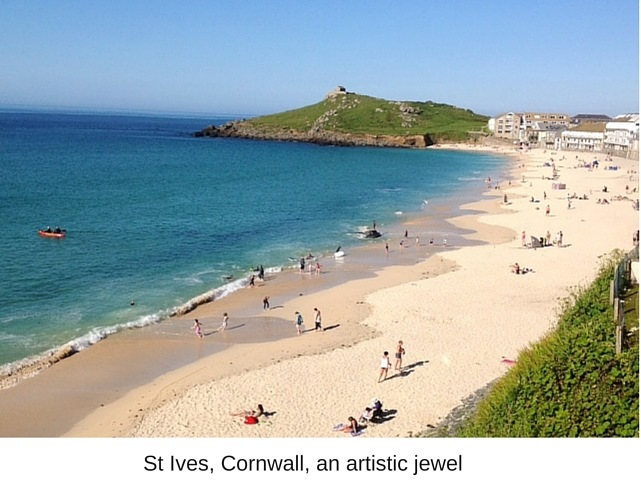 St Ives, Cornwall, an artistic jewel