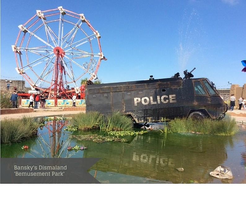 Bansky's Dismaland 'Bemusement Park'