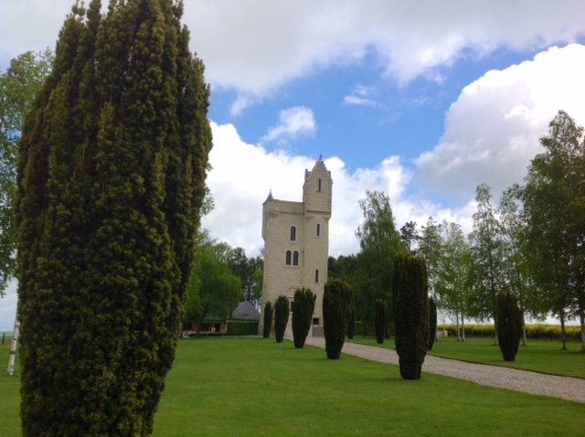 The Ulster Tower at the Somme, northern France