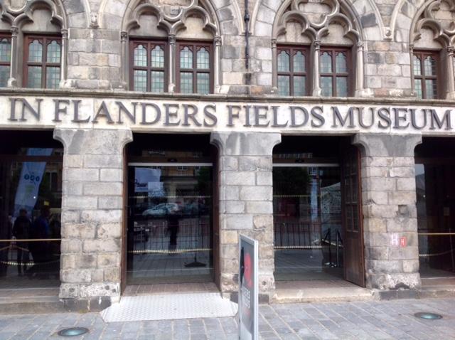 In Flanders Field Museum, Ypres, Belgium