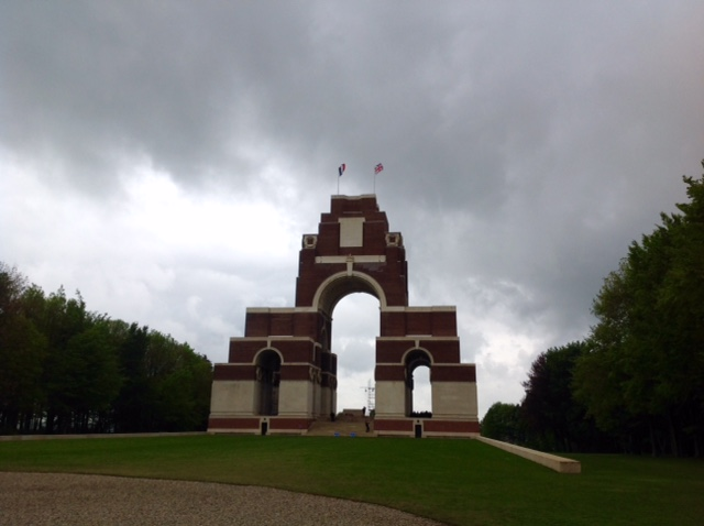 Thiepval Memorial to the Missing, Somme, northern France