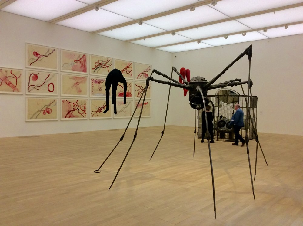 Louise Bourgeois' Spider 1994 in the Switch House