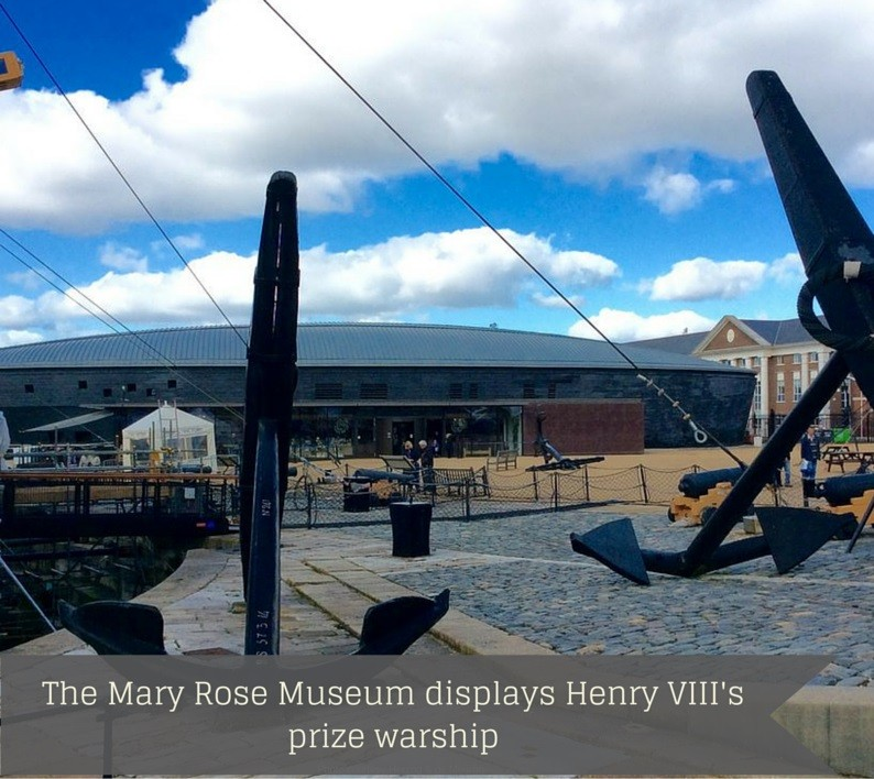 The Mary Rose Museum displays Henry VIII's prize warship