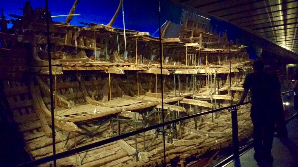 New direct views of the Mary Rose
