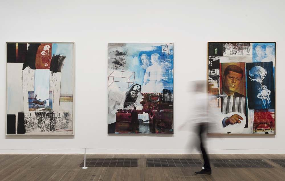 Rauschenberg's Silkscreens Courtesy Tate Photography/Robert Rauschenberg Foundation