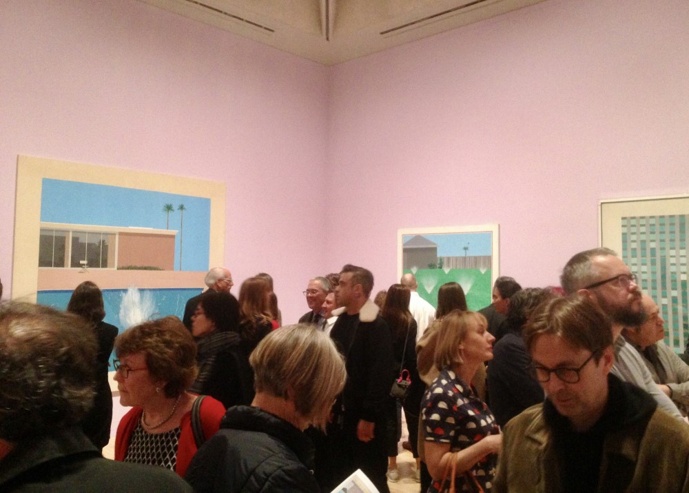 A saturated opening at Tate Britain.