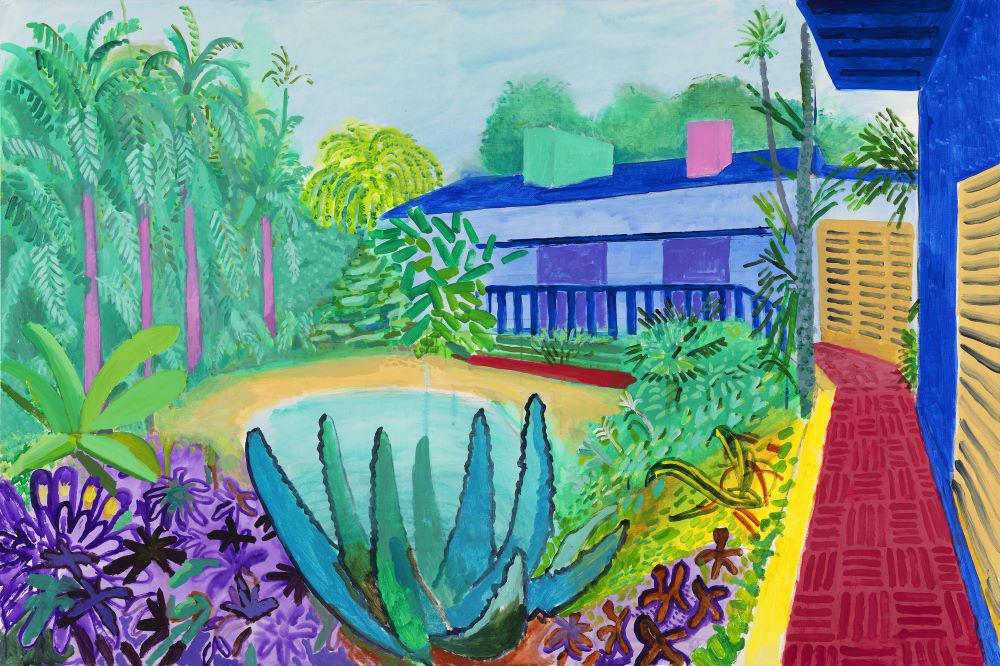 Garden 2015 David Hockney Richard Schmidt