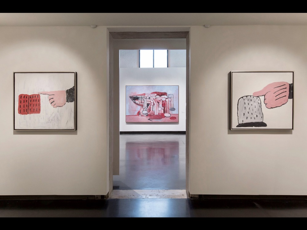 Installation view - courtesy Lorenzo Palmieri