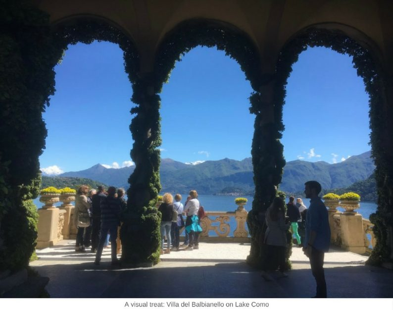 A visual treat: Villa del Balbianello on Lake Como