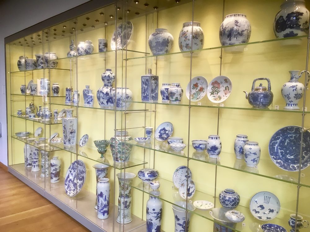 The Ashmolean: acres of porcelain