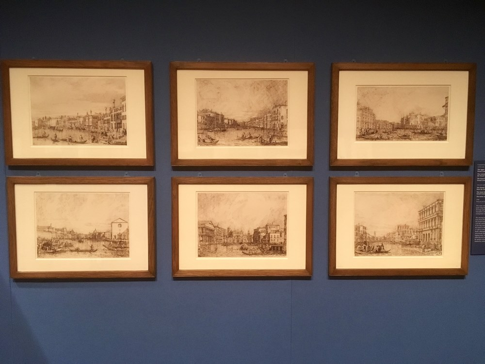Drawings of the Grand Canal