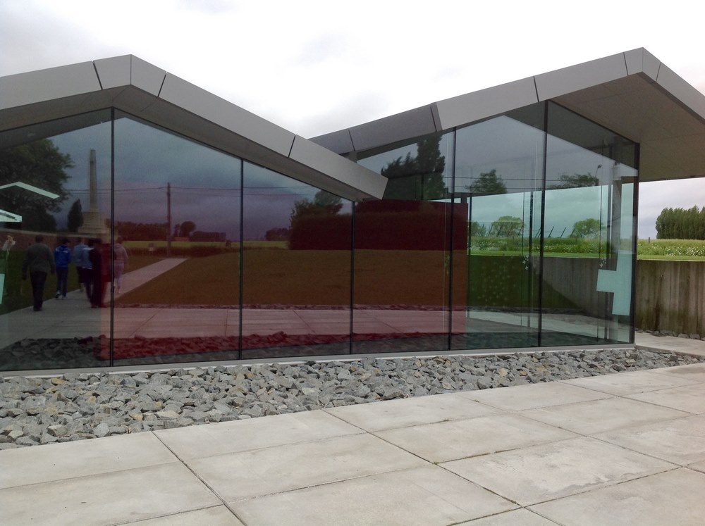 The Visitor Centre at Lijssenthoek