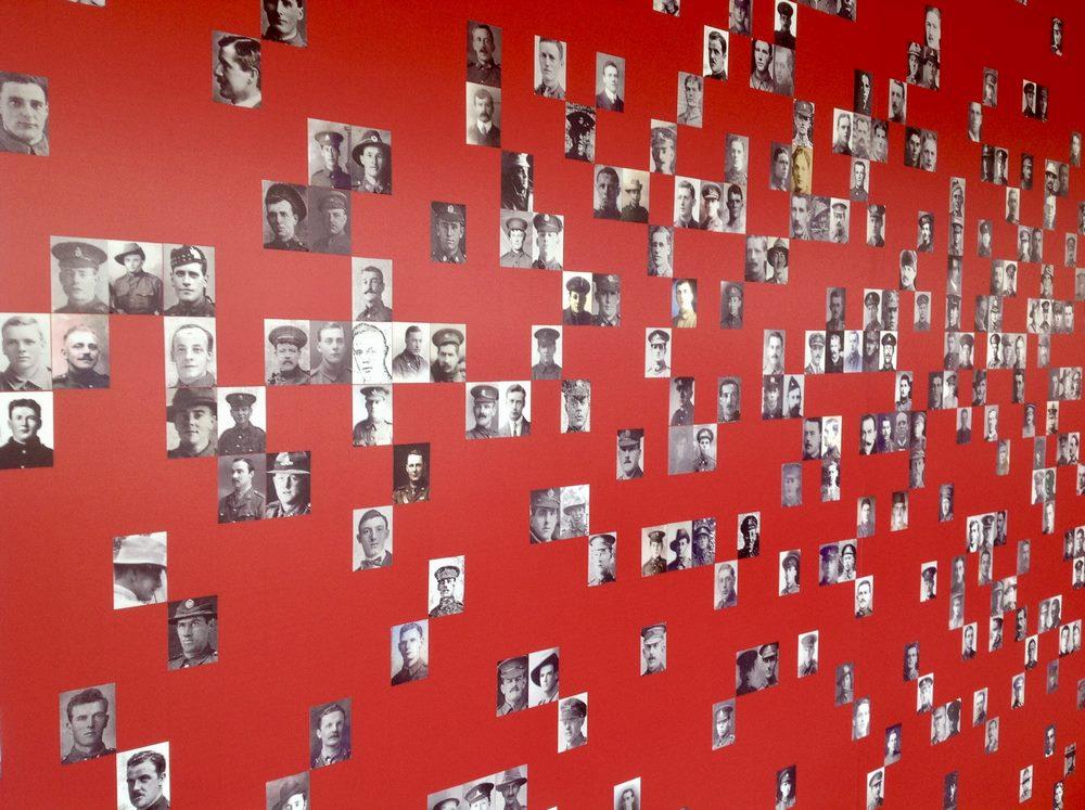 Inside the Visitor Centre at Lijssenthoek