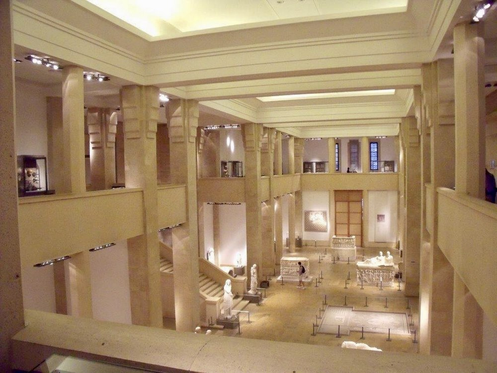 The Main Hall, National Museum of Beirut