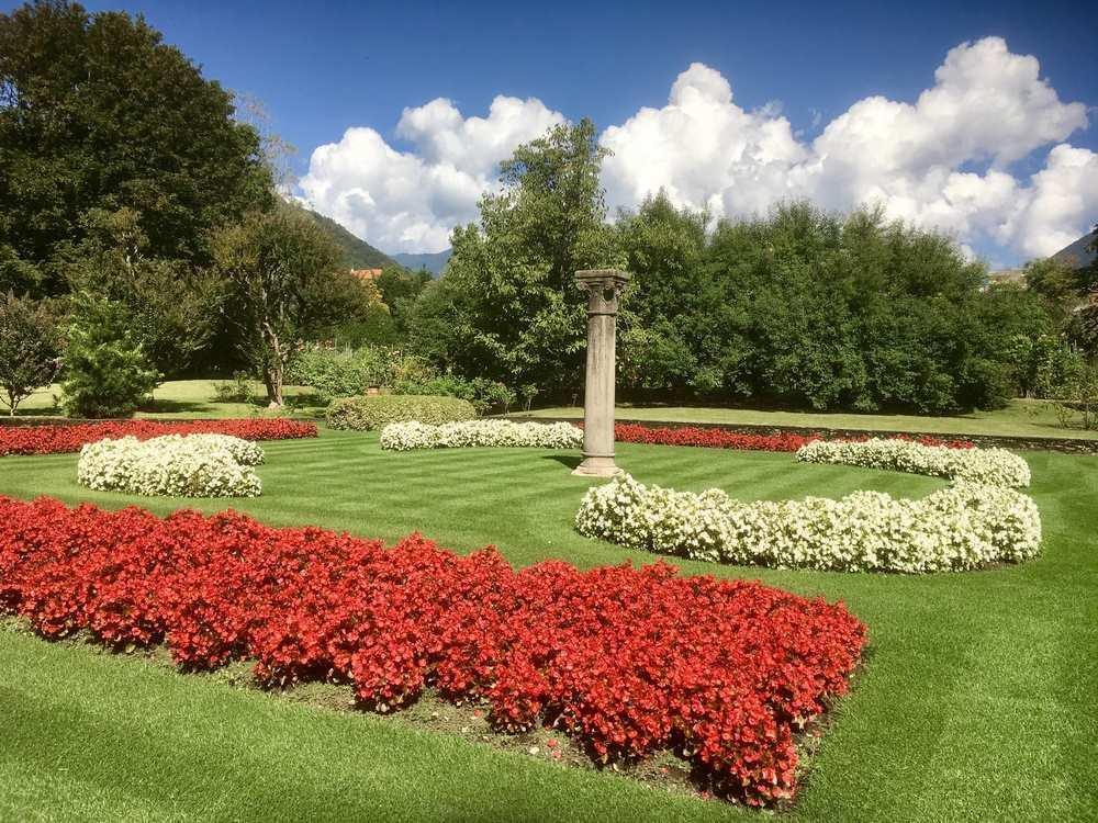Garden view, Villa Taranto