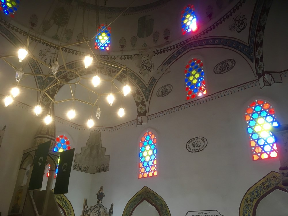 Inside the Koshki Mehmed Pasha mosque