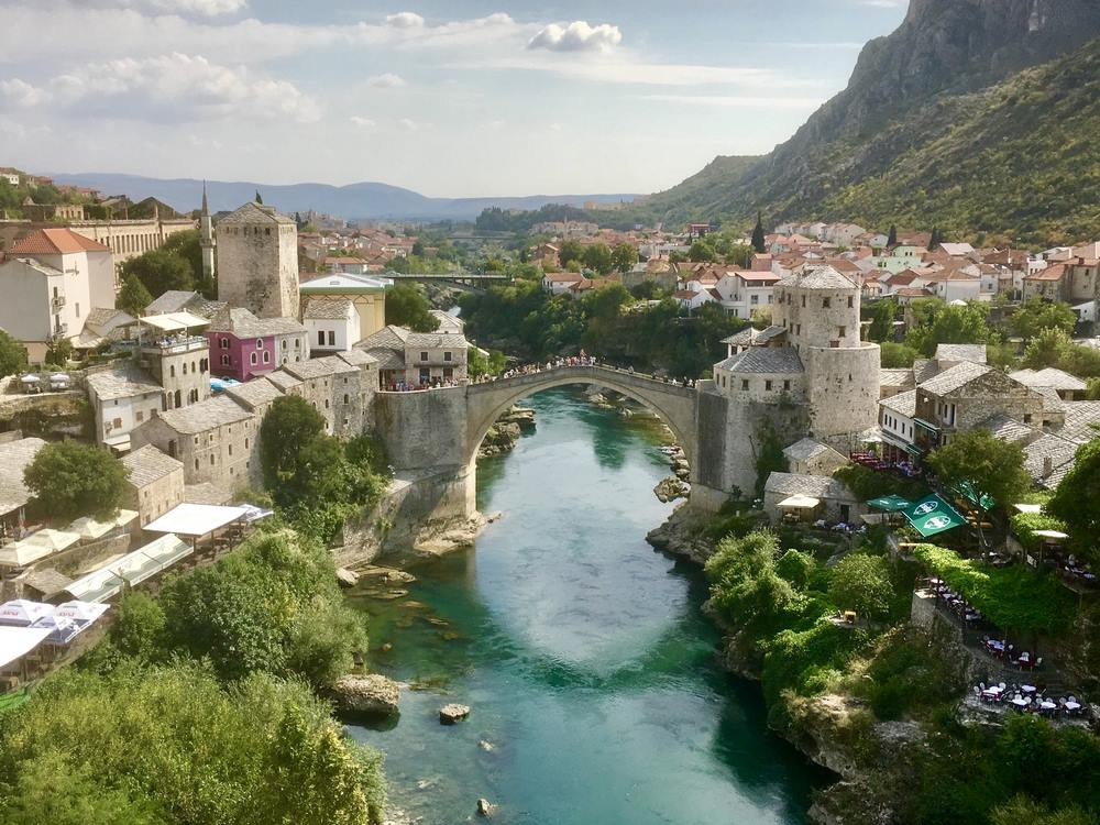 Stari Most or Old Bridge, Mostar